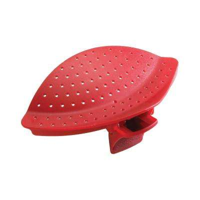 Clip and Drain Strainer