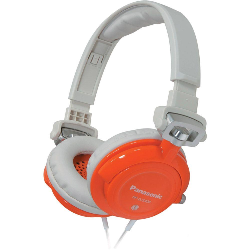 Panasonic DJ Street Model Headphones - Orange