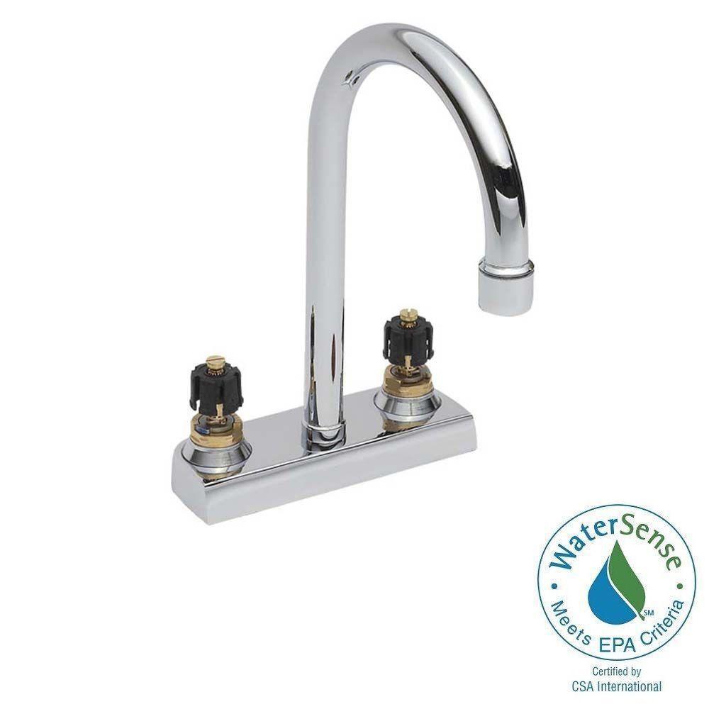 6 inch centerset bathroom faucet. Centerset Less Handles Gooseneck Bathroom Faucet in Chrome 6  Sink Faucets