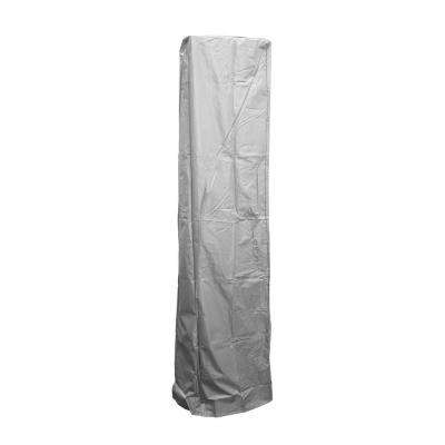 92 in. Heavy Duty Silver Square Glass Tube Heater Cover