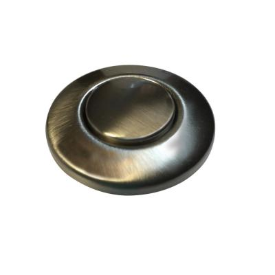 Garbage Disposal Air Switch Controller Button in Satin Nickel