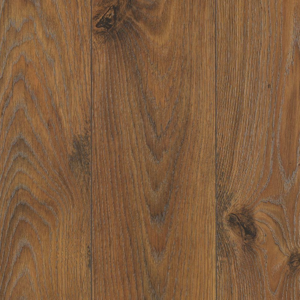 Mohawk Emmerson Rustic Saddle Oak 8 mm Thick x 6-1/8 in. Width x 54-11/32 in. Length Laminate Flooring (18.54 sq. ft. / case)