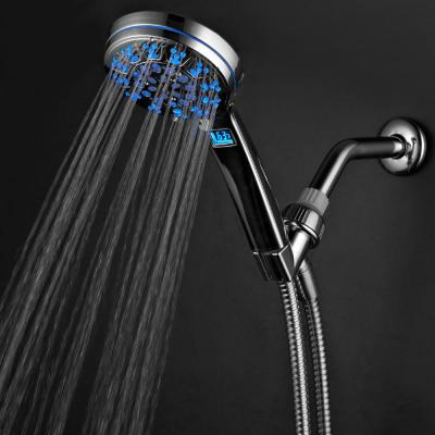 5-Spray Setting LED Handheld Shower in Chrome