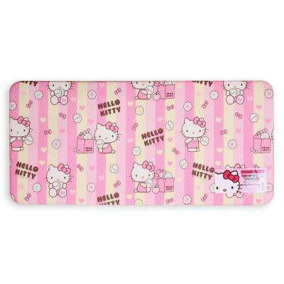 Kitchen Bath Bedroom Yoga Double-Sided PVC Cushion Mat, Medium