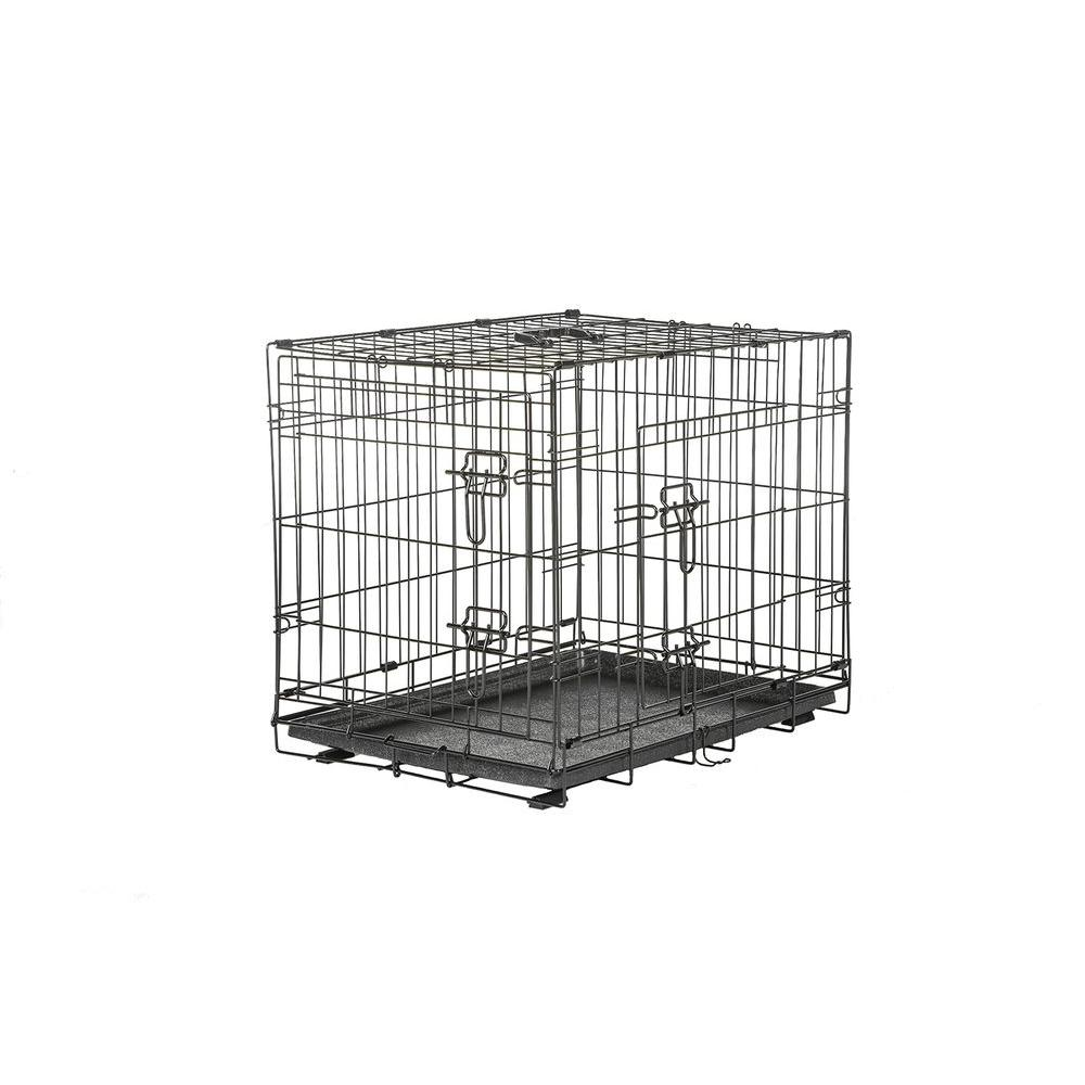 American Kennel Club 36 in. x 24 in. x 26 in. Medium Wire Dog Crate ...