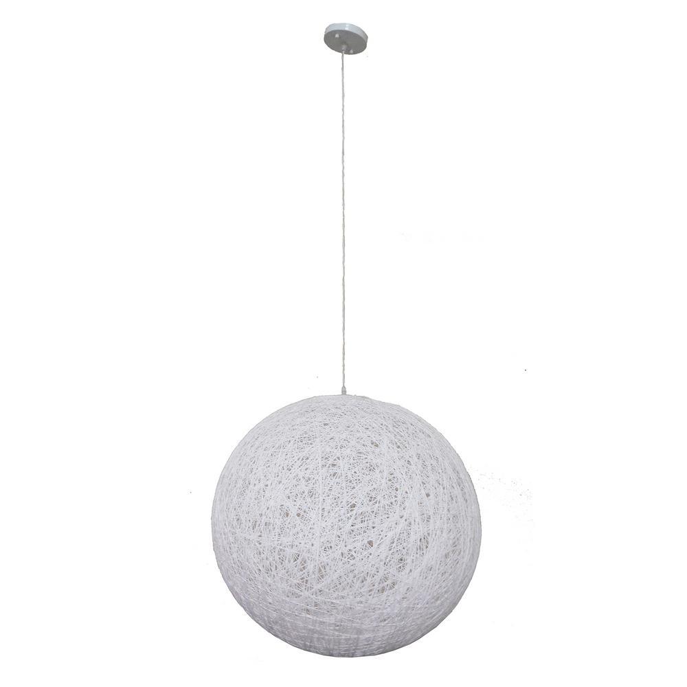 White filament design led pendant lights lighting the home 1 light white pendant aloadofball Gallery
