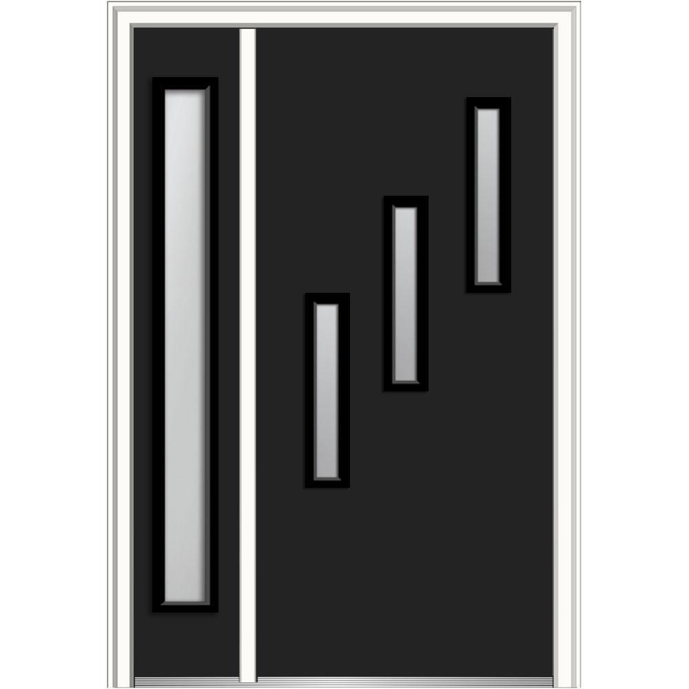 Modern - Black - Front Doors - Exterior Doors - The Home Depot