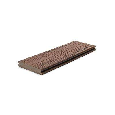 Transcend 1 in. x 5.5 in. x 1 ft. Lava Rock Composite Decking Board Sample