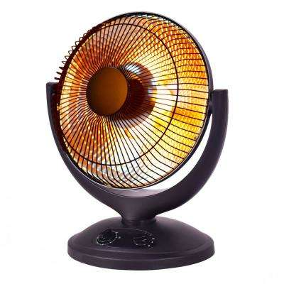 Electric Parabolic Oscillating Infrared Space Heater with Timer Home Office