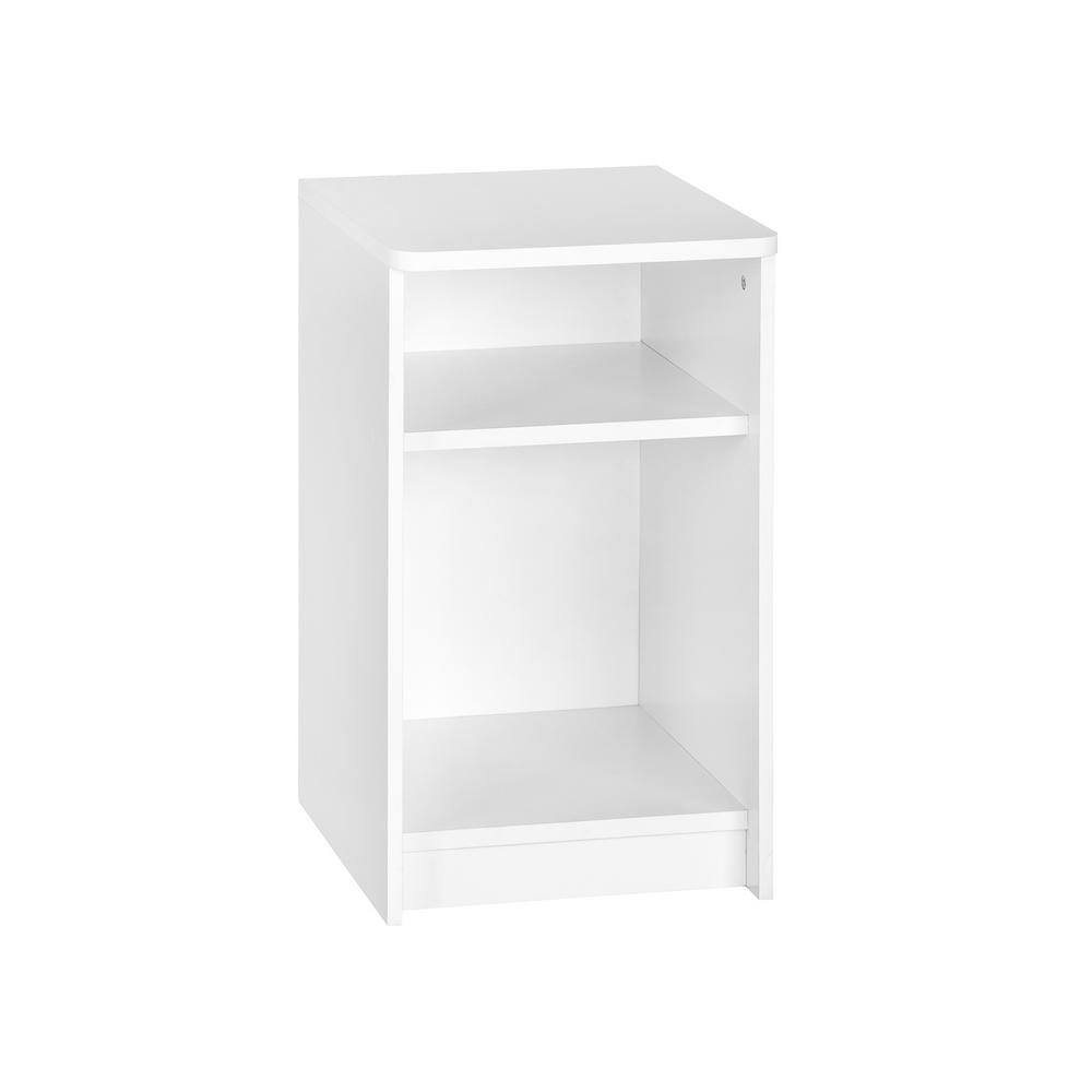 KidSpace 26 in. x 35 in. White 1-Cube 1-Shelf Storage Organizer