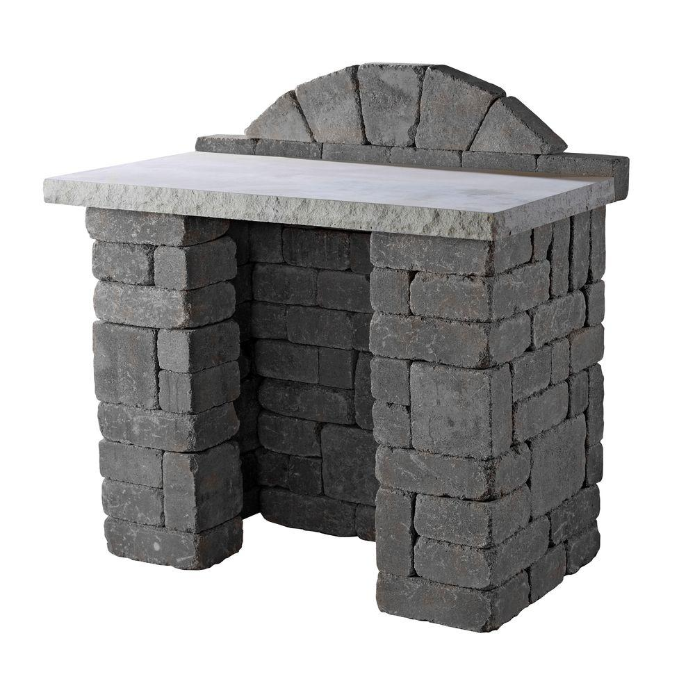 Necessories Bluestone Compact Patio Bar-4201117 - The Home Depot