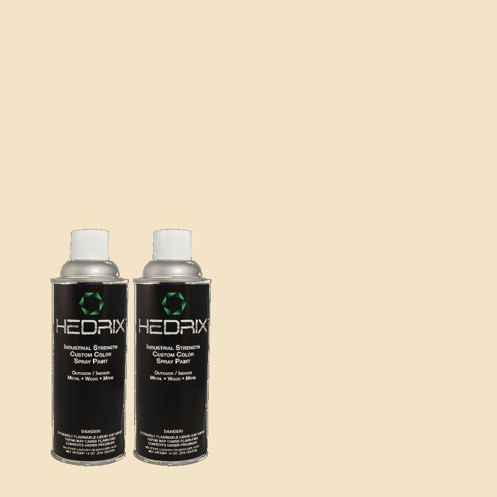 Hedrix 11 oz. Match of PEC-11 Clairidge Flat Custom Spray Paint (2-Pack)
