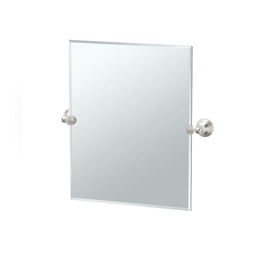 Charlotte 24 in. x 24 in. Frameless Single Small Rectangle Mirror