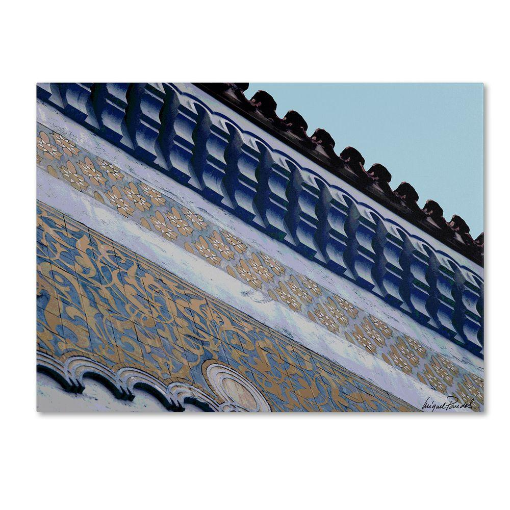 Trademark Fine Art 14 in. x 19 in. Rooftop Canvas Art