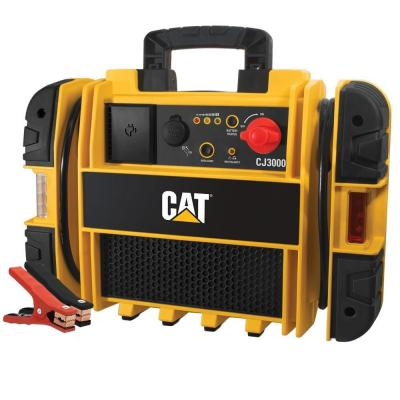 1200 Peak//550 Instant Amps Battery Clamps STANLEY J5CPD POWERiT Power Station Jump Starter 120 PSI Air Compressor