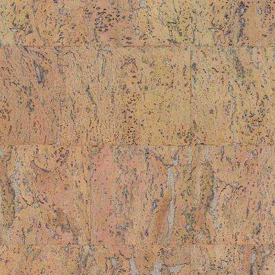 Flagstone 1/8 in. Thick x 23-5/8 in. Wide x 11-13/16 in. Length Real Cork Wood Wall Tile (21.31 sq. ft. / pack)