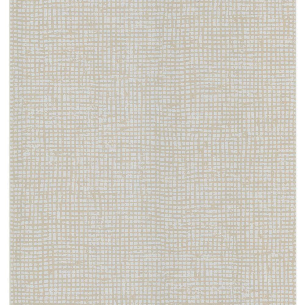 Cordel Taupe Weave Wallpaper Sample