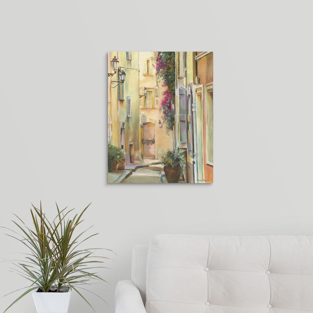 GreatBigCanvas 16 in. x 20 in. ''Montmartre I'' by Marilyn Hageman