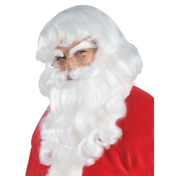 Men's Santa Claus Wig and Beard Set