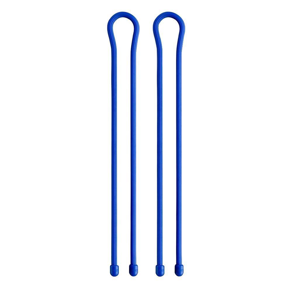 24 in. Gear Tie in Blue (2-Pack)