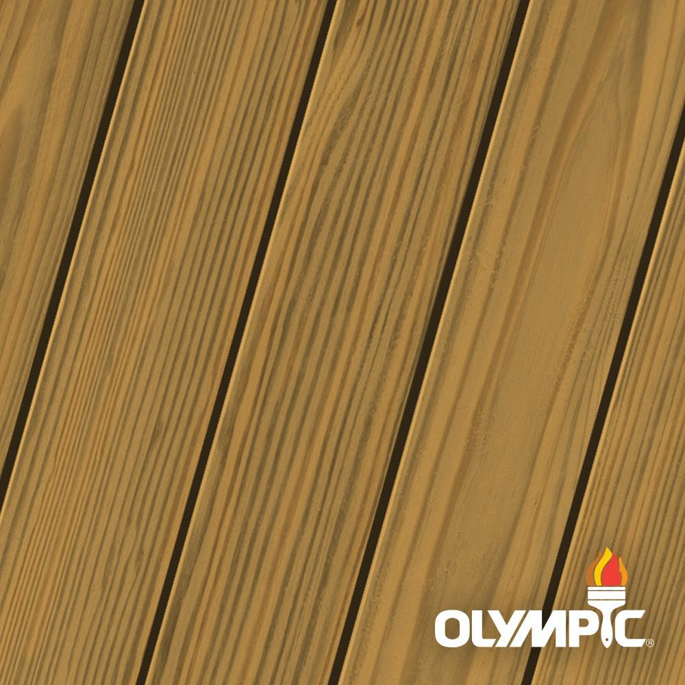 Olympic Elite 3 Gal. American Chestnut Semi-Transparent Stain and Sealant in One