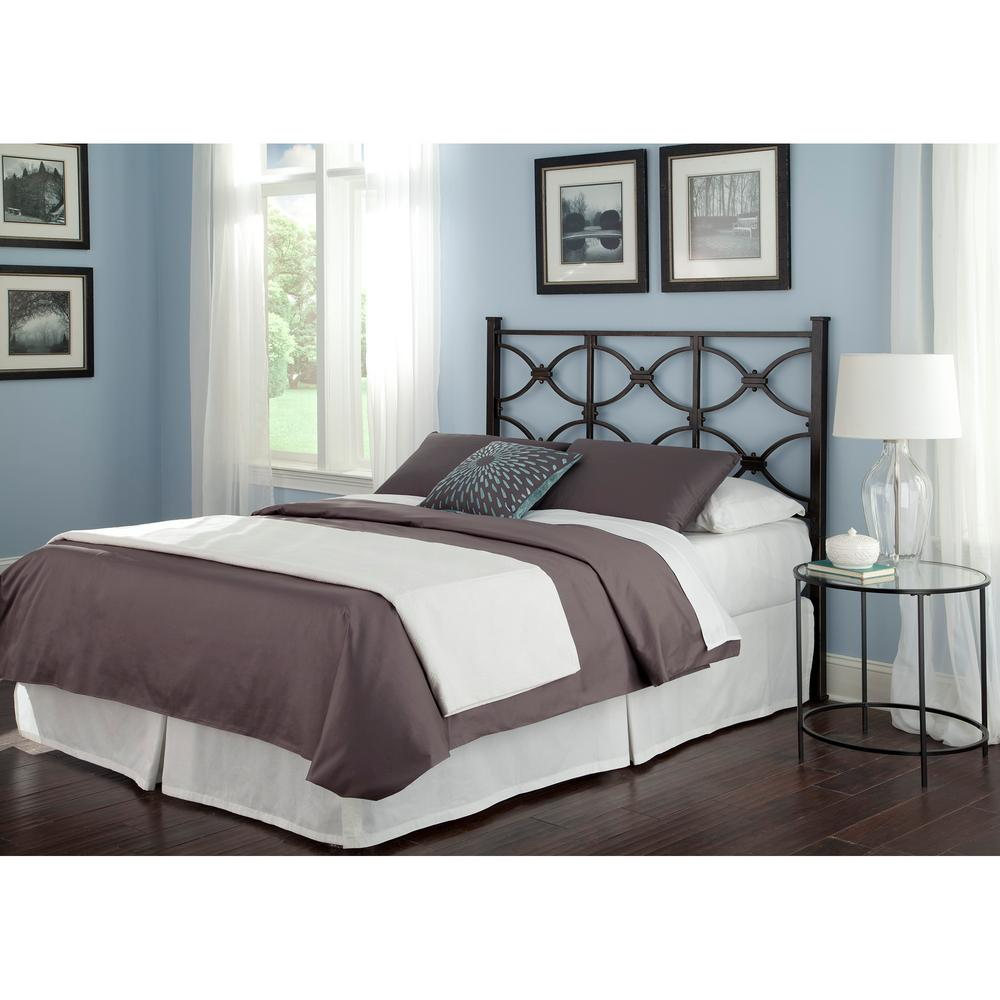 Fashion bed group marlo california king size metal for California king size headboard