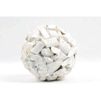 Decorative Chip Wood Ball Small