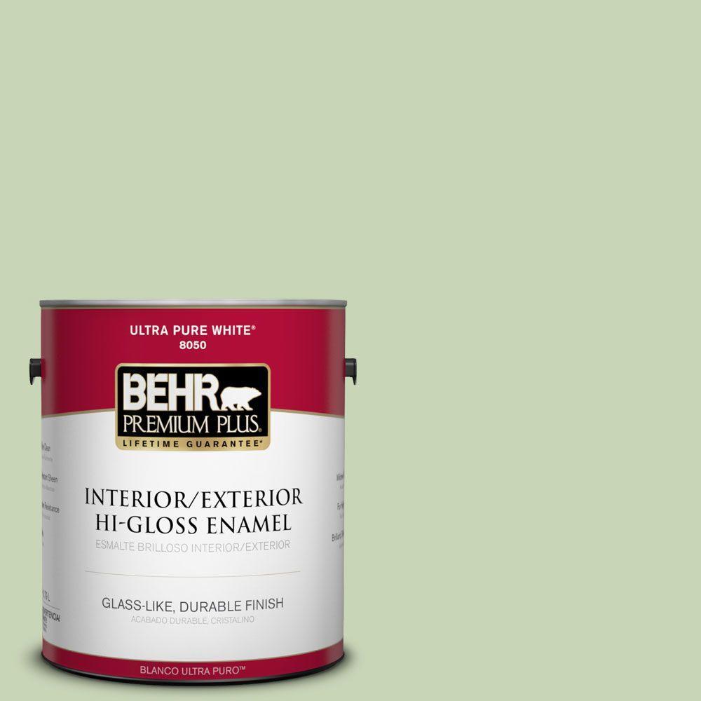 1-gal. #M370-3 Spice Garden Hi-Gloss Enamel Interior/Exterior Paint