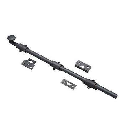 18 in. Oil-Rubbed Bronze Surface Bolt Kit