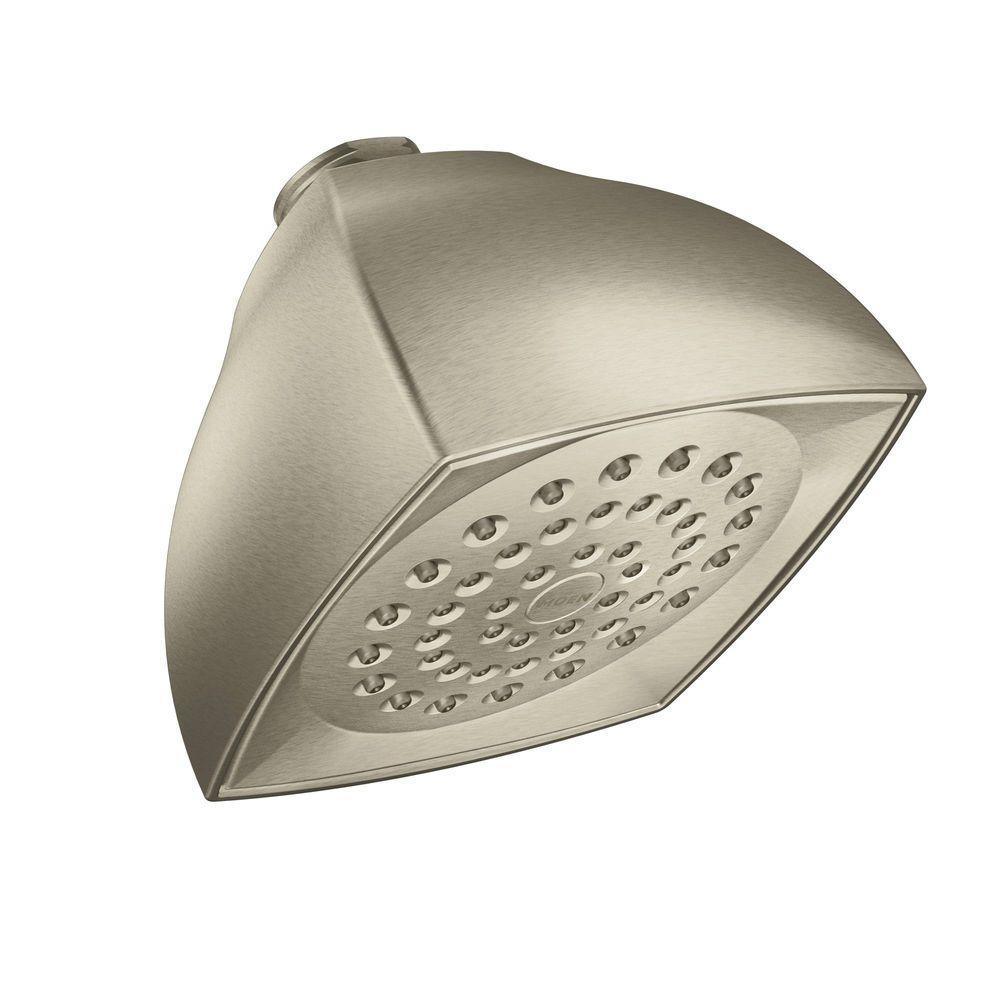 Moen Voss 1 Spray 4 In Showerhead In Brushed Nickel 6325bn The
