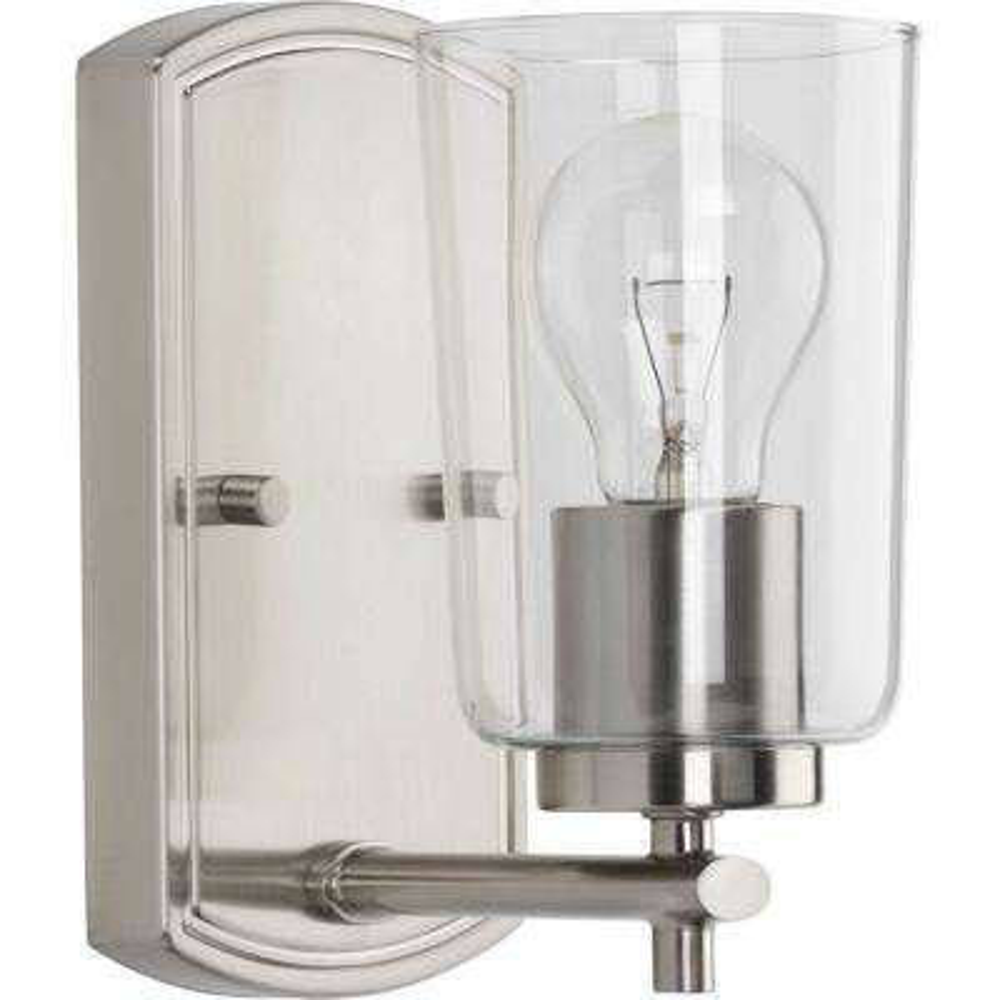 Adley 1-Light Brushed Nickel Bath Light