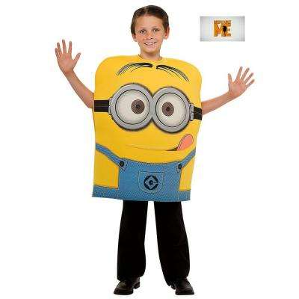 Medium Boys Minion Dave Foam Costume