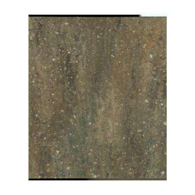 2 in. x 2 in. Solid Surface Countertop Sample in Acadia