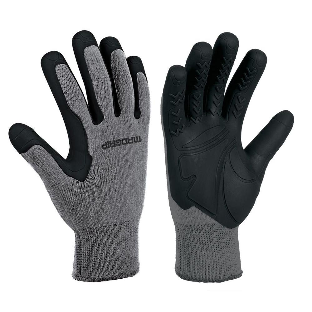 Mad Grip Pro Palm Performance Work Glove W/Grip Injection Technology - Large/X-Large