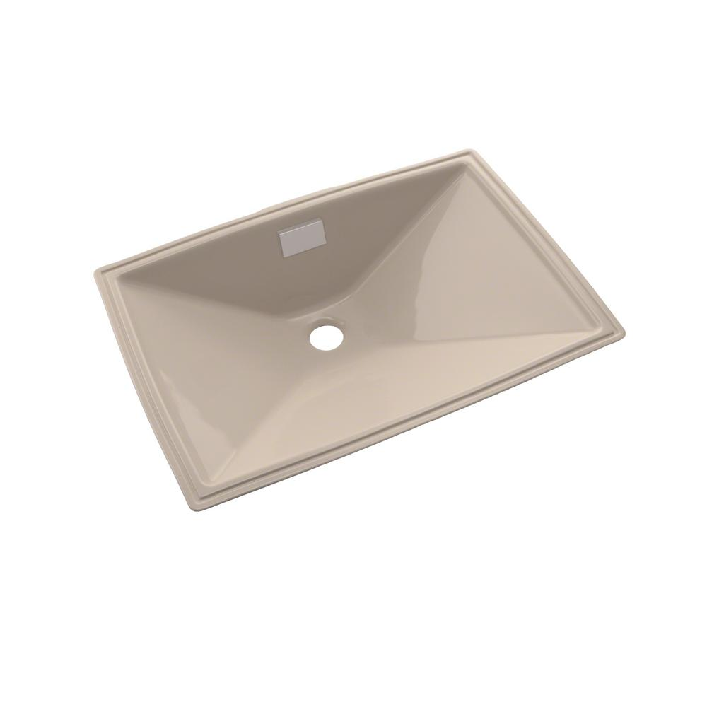 toto lloyd 21 in undermount bathroom sink in bone lt931 20996