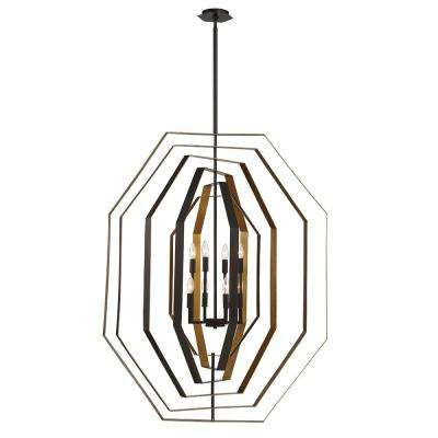 Montcalm 8-Light Oil Rubbed Bronze Chandelier