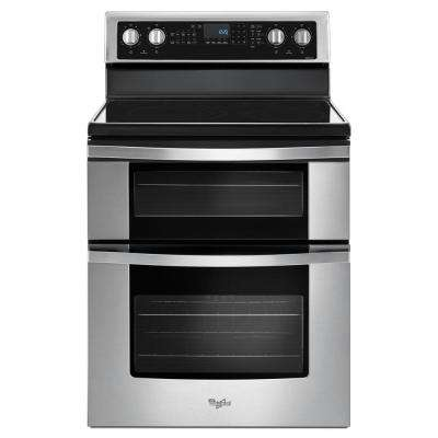 6.7 cu. ft. Double Oven Electric Range with True Convection in Stainless Steel