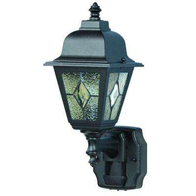 180 Degree Motion Activated Black Decorative Lantern