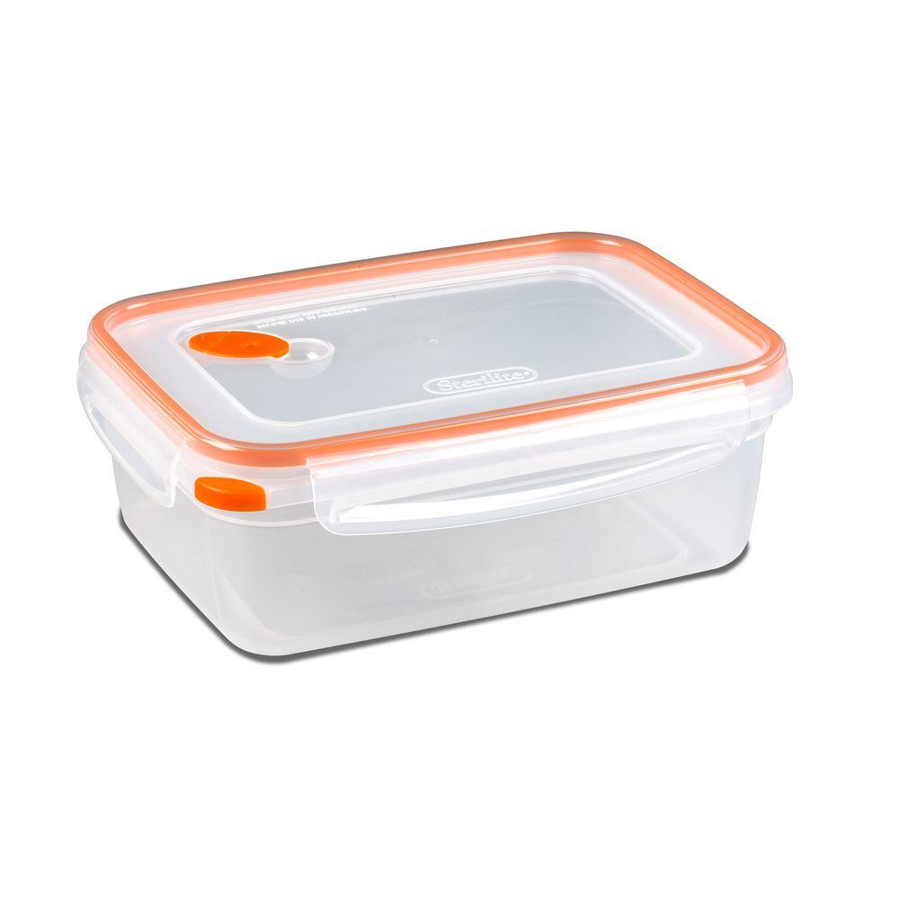 Sterilite Ultra-Seal 8.3 Cup Rectangle Food Storage Container (6-Pack)-DISCONTINUED