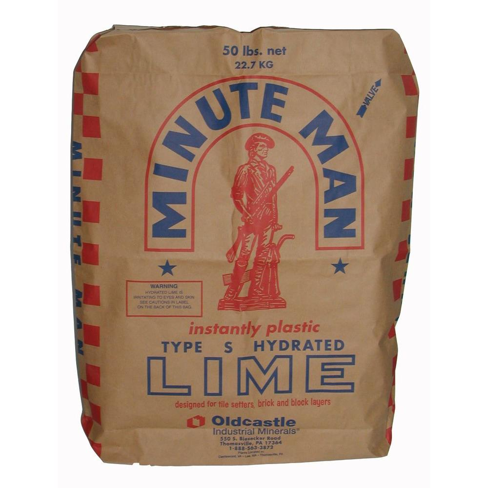 Oldcastle 50 lb. Type S Hydrated Mason Lime