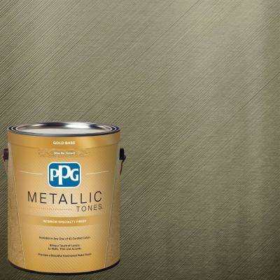 1 gal. MTL127 Totally Topiary Metallic Interior Specialty Finish Paint