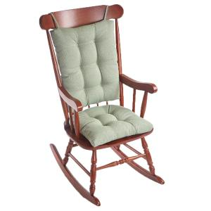 Gripper Saturn Celadon Jumbo Rocking Chair Cushion Set by