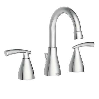 Essie 8 in. Widespread 2-Handle Bathroom Faucet in Chrome