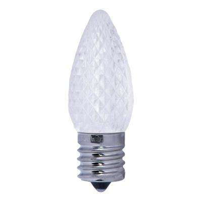 5W Equivalent Warm White Light C9 Non-Dimmable LED Intermediate Screw Light Bulb (25-Pack)