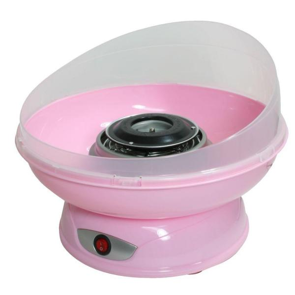 Pink Cotton Candy Machine with 4 Cotton Candy Cones