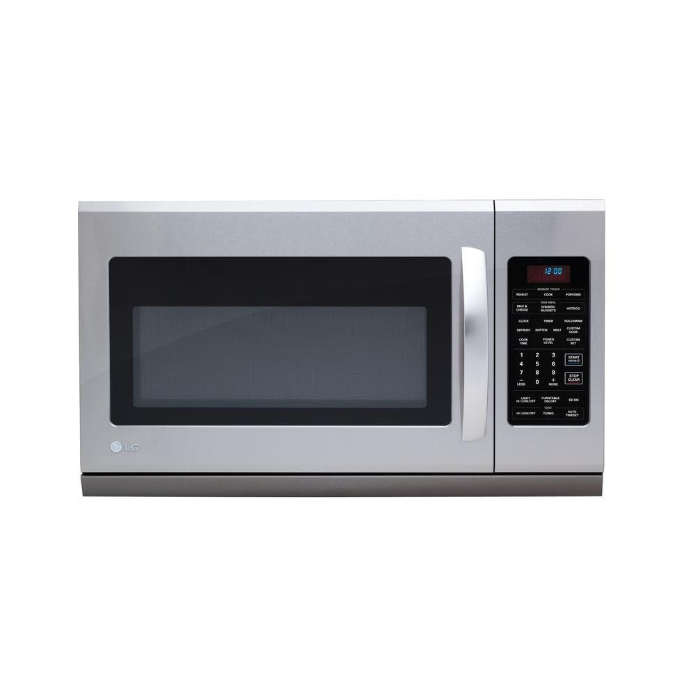 LG Electronics 2.0 cu. ft. Over-the-Range Microwave with Extenda Vent in Stainless Steel