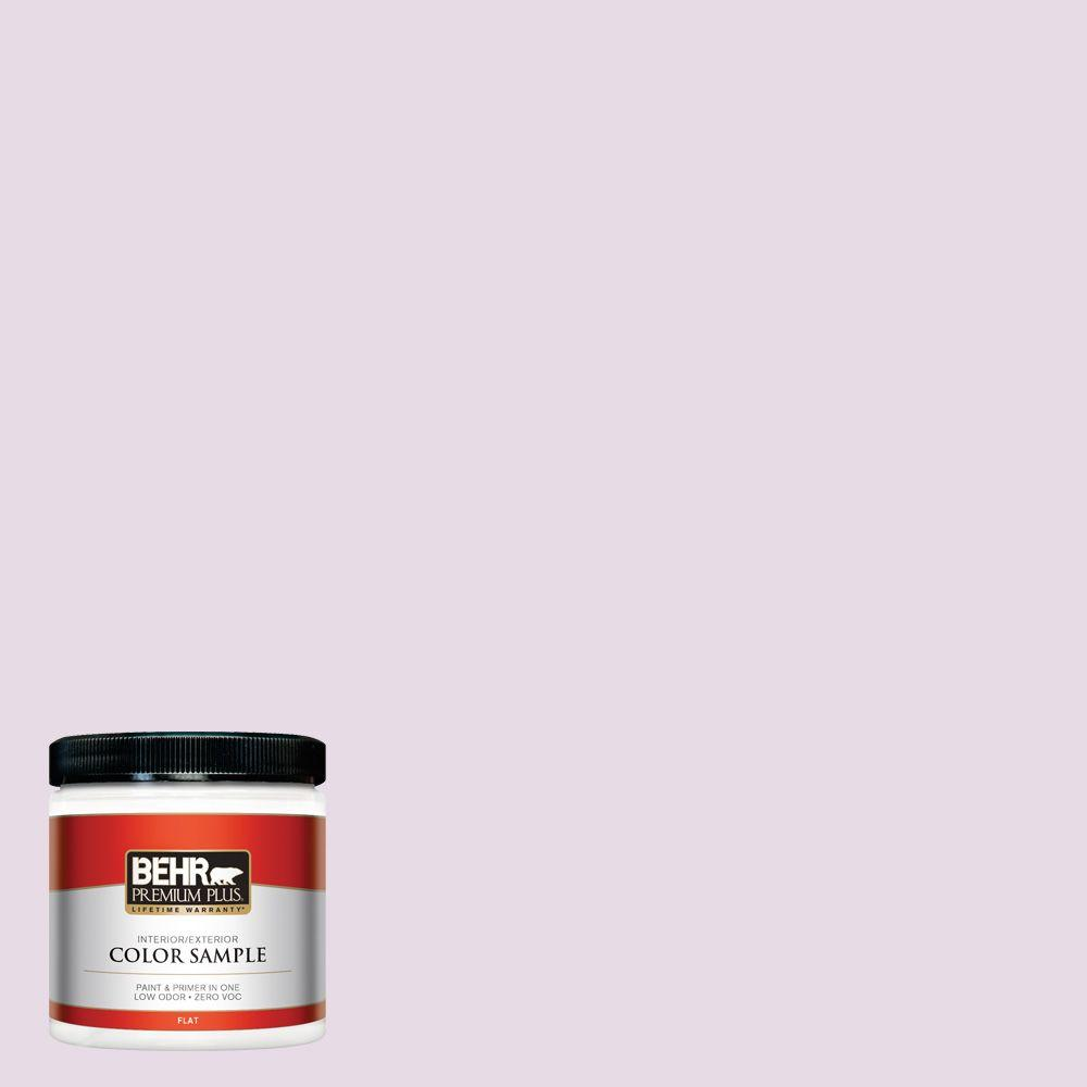 8 oz. #680E-2 Iced Mauve Interior/Exterior Paint Sample