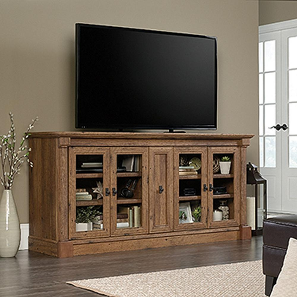 Superieur Palladia Collection Vintage Oak Entertainment Credenza