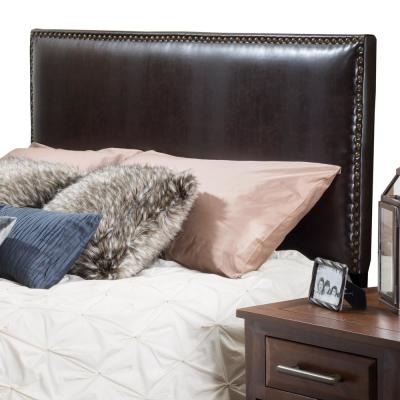 Hilton Brown Leather King/Cal King Headboard