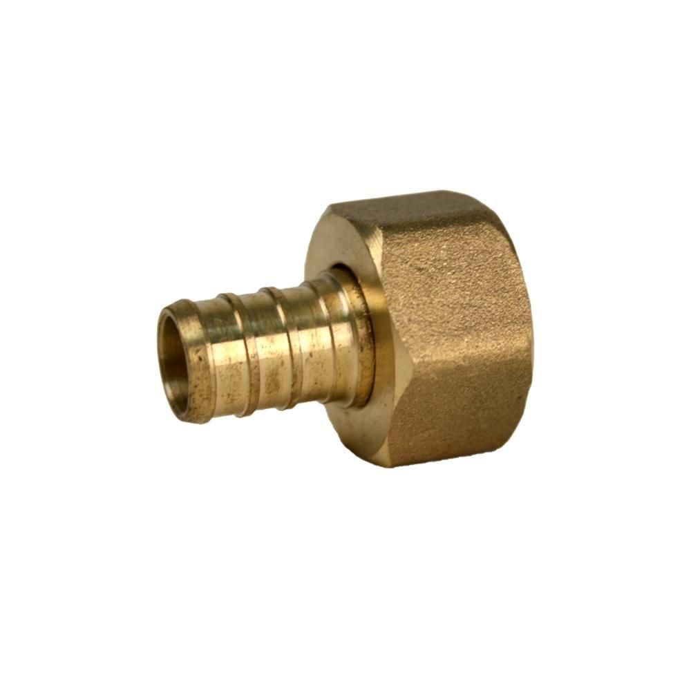 In pex fpt fitting swivel adapter valve